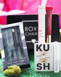 We're definitely not done with spoilers this week! Here's Base Sneak Peek 3 🤗 This month our active Base members may be getting either 1 @clarinsofficial Velvet Lip Perfector (shades vary) OR 1 @milkmakeup Kush Fiber Brow Gel (shades vary) OR 1 @morphebrushes Eye Got This Brush Set in their box 💗 #BoxyCharm #BoxyGlamping Brow Gel, Glamping, Lips, Base, Collection, Eyes, Glam Camping