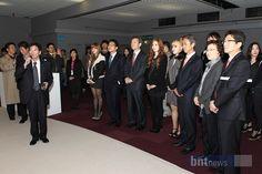 'KBEE 2011' 브리핑 하고 있는 K0TRA 파리무역관 고광욱 관장 [한국경제, 2011-12-05]