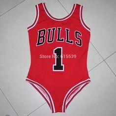 cbdb4cb82f70 Swimwear  beyonce bodysuit bulls 1 one piece swim suit bulls jersey... ❤