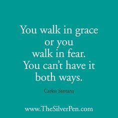 Choose grace.