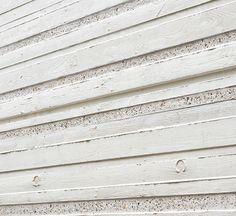 White architectural concrete