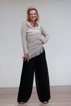Silk Palazzo Pants - Emma Darlington - 1