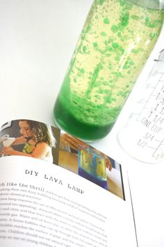 DIY Lava Lamp {Tinkering with TinkerLab}