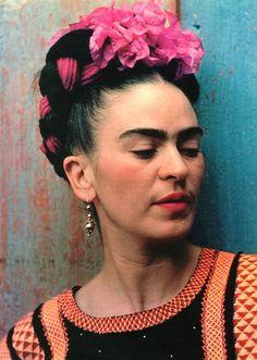 Frida Kahlo Color Photo Mexico Art Latin Artist
