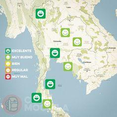 El tiempo en Tailandia en MARZO