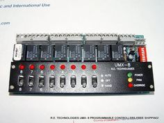R.E. TECHNOLOGIES UMX-8 PROGRAMMABLE CONTROLLER HVAC FREE SHIPPING!  #RETECHNOLOGIES