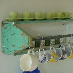 Vintage tool caddy as kitchen storage, I made one of these in shop class time to find it