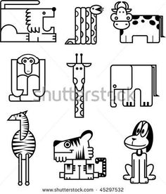 Find Animals Geometric Shape stock images in HD and millions of other royalty-free stock photos, illustrations and vectors in the Shutterstock collection. Thousands of new, high-quality pictures added every day. Technology Design, 8 Bit, Geometric Shapes, Royalty Free Stock Photos, Design Inspiration, Crafty, Illustration, Pictures, Animals