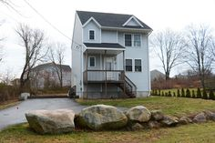 Front view of 75 Tower Street Westerly, RI