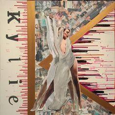 Original Celebrity Collage by Ant Adams Music Collage, Art Music, Canvas Paper, Canvas Art, Kylie Minoque, Pop Pop, Art 3d, Pop Singers, Ants