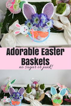 5 perfect ideas for your toddlers easter basket easter baskets easter bunny baskets including fairy wand flower crown and glasses no sugar negle Choice Image