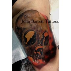 Horrortattoo by john barrett yogi barrett tattoo for Tattoo shops in tennessee