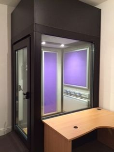 Audiology booth for the Hear Clinic, Leicestershire   #soundproof #pod #modular #booth #healthcare #medical #facility #clinic #hearing #audiology #audiologist #hearingtest #musicpod #musicbooth #voiceover