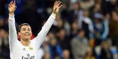 """RONALDO MARCOU HOJE 2 GOLOS E DEDICA A EUSÉBIO""""Dedico estes 2 golos a ti Eusébio, mas de facto foste tu quem os marcou. Estarás sempre no meu coração"""". - Ronaldo"""