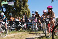 Primera prueba de la Copa Infantil MTB celebrada en Montecalderón, El Casar