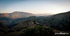 Atardecer en La Alpujarra.  Conoce más sobre esta comarca:  www.facebook.com/Vive.Alpujarra