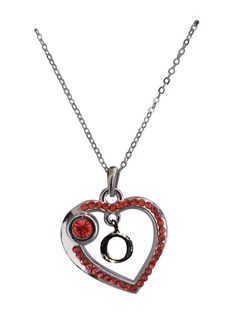 Love Collection Necklace- Red- O item# 31439