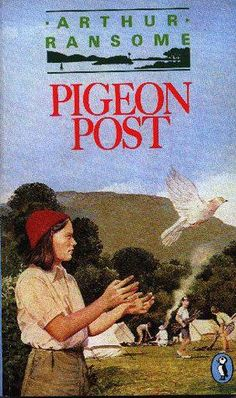 Pigeon Post Pigeon Post, Arthur Ransome, Swallows And Amazons, Reading, Books, Libros, Book, Reading Books, Book Illustrations
