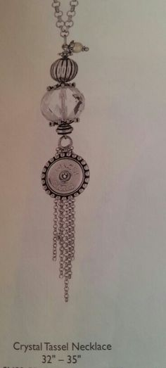 Long Tassel necklace for Gingersnap jewelry