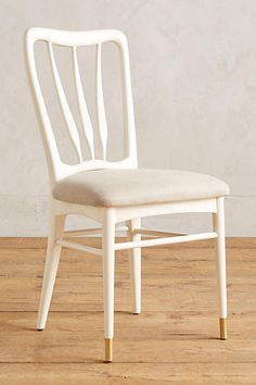 Anthropologie Lacquered Haverhill Dining Chair