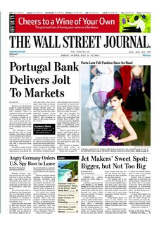 July 11, Days Of The Year, Off The Wall, Wall Street Journal, Europe, Let It Be