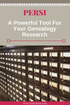 Have you used PERSI in your genealogy research? PERSI is a powerful tool to find publications and articles helpful in tracing your ancestors. Genealogy Search, Genealogy Sites, Family Genealogy, Free Ancestry Sites, Find Your Ancestors, Family Tree Research, Genealogy Organization, Marriage Records, Family Organizer