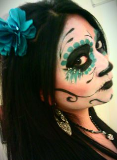 My Day of the Dead Makeup :D