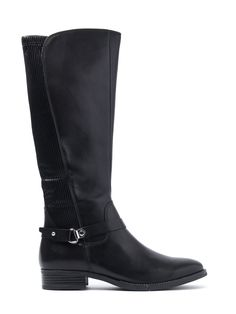Caprice Women's Nappa Tall Boots - Black Leather - Shop online for Caprice Women's Nappa Tall Boots - Black Leather at Cloggs