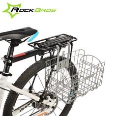 ==> [Free Shipping] Buy Best RockBros Road MTB Bicycle Cycling Large volume Classic Foldable Front Rear Bag Panniers Basket Box Bike Portable Folding Pannier Online with LOWEST Price   32561699136