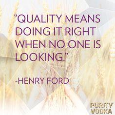 #Quality