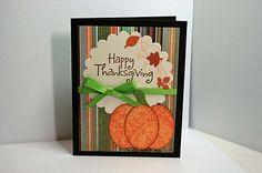 Cute DIY Thanksgiving/Fall cards