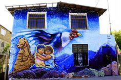 Identidad (Ft. @Phoenix / @Amaru) Mural final para FITECA La Molina 2017  #WIP #Art #identidad #naturaleza #convivir #llama #face #comedor #popular #inca #condor #Disciplina #Perú #bestartpage #illustratedmonthly #artfido #artistsdrop #artistsoninstagram #murals #urbanart #artist_unity_ #artist_discover #artist_showcase #Pinterest #Flickr #Jech #TheArtOfJech