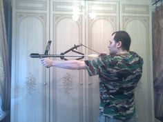 Радикал-Фото: Картинка Homemade Crossbow, Sling Bow, Catapult, Archery, Compound Bows, Guns, Survival, Weapons, Diy Ideas