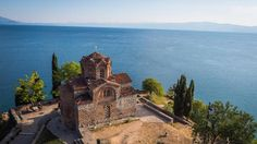 Ohrid lake, between Makedonia and Albama Barcelona Cathedral, Monument Valley, Building, Nature, Travelling, Europe, Viajes, Naturaleza, Buildings