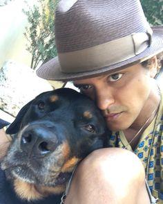 """392.7k Likes, 5,403 Comments - Bruno Mars (@brunomars) on Instagram: """"MY BOY"""""""
