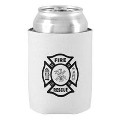 Firefighter Rescue Can Cooler