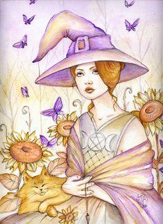 Summer Witch by Maria-van-Bruggen on deviantART