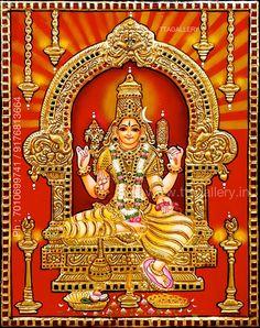 Online Art Store, Lord Murugan Wallpapers, Vaishno Devi, Love Cartoon Couple, Hindu Statues, Baba Image, Tanjore Painting, Shiva Shakti, Goddess Lakshmi