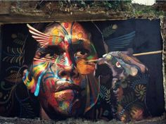 Street Art by Adrian Takano, located in Mexico