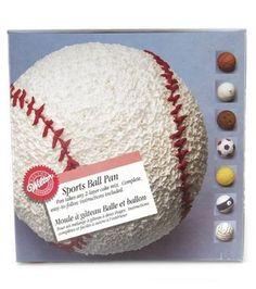 Best Sports Ball Cake Pan Set Recipe On Pinterest