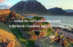 Iceland features on many travelers' wish lists. Friday Facts, Mount Rainier, Iceland, Scandinavian, Wish, Mountains, World, Nature, Travel