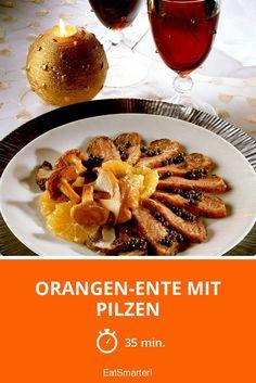 Orangen-Ente mit Pilzen - smarter - Zeit: 35 Min. | eatsmarter.de