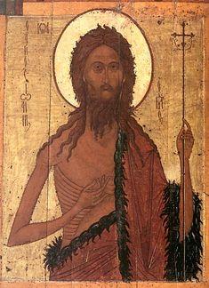 John the Baptist #Russian #Orthodox #icon Иоанн Предтеча  Примечание: Конец 60-х - начало 70-х годов XVI века. Ярославль.