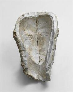 Constantin Brancusi (1876-1957), Moule de la Tête sculptée dans un caillou, vers 1908.