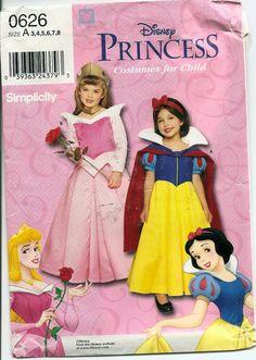 Simplicity 9384 Disneys Snow White Sleeping Beauty Costume Patterns - My WordPress Website