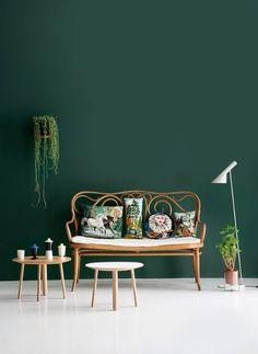 Gröna väggar!