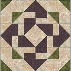 for a quilt! Quilt Block Patterns, Pattern Blocks, Quilt Blocks, Patchwork Quilt, Mini Quilts, Quilting Projects, Quilting Designs, Quilting Ideas, Sampler Quilts