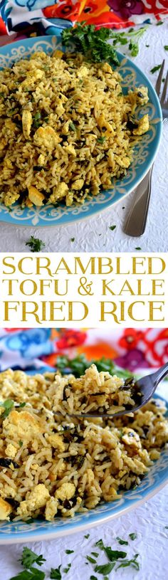 Scrambled Tofu and K