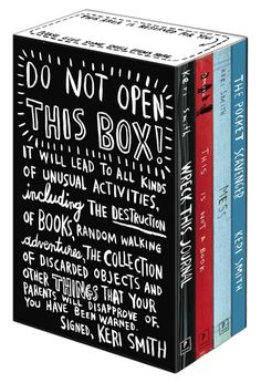 Now in one brand-new box, Keri Smith's wildly popular interactive journals…