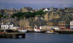 Lerwick ,Shetland, Soctland. Shetland's only town